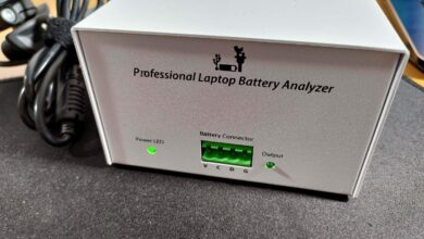 NLBA1 Professional Laptop Battery Analyzer