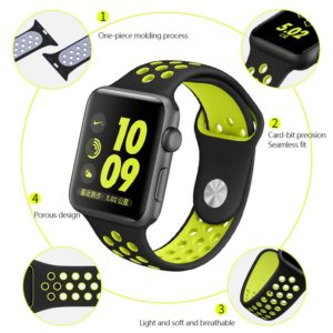 Apple Watch sport band by FOHUAS