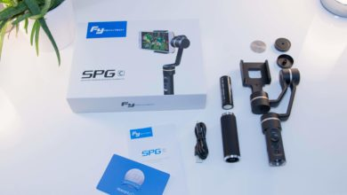 Photo of Feiyu Tech SPG C smartphone gimbal stabilizer