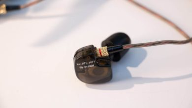 Photo of KZ ATE copper driver earphones
