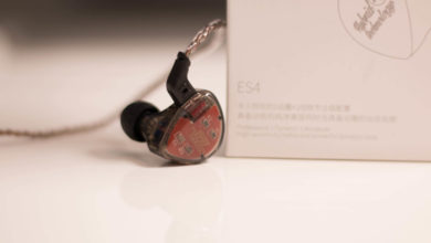 Photo of KZ ES4 in-ear monitor